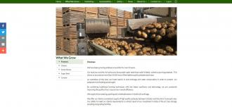 Farming Company Website